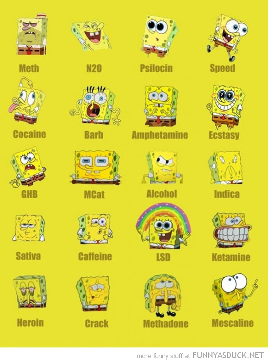 spongebob on drugs chart nickelodeon tv funny pics pictures pic picture image photo images photos lol