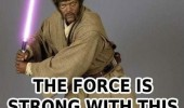 star wars mace windu force strong this mother fucker samuel l jackson funny pics pictures pic picture image photo images photos lol