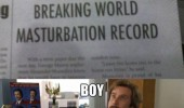 student breaks world masturbating record news paper that escalated quickly meme funny pics pictures pic picture image photo images photos lol