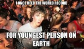 sudden clarity clarence meme world record youngest person earth funny pics pictures pic picture image photo images photos lol