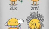 sun comic seasons spring summer autumn winter game thrones funny pics pictures pic picture image photo images photos lol