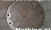 teleport manhole cover stood there all day nothing funny pics pictures pic picture image photo images photos lol
