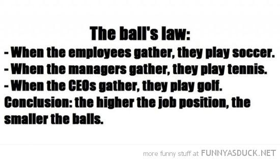 The Balls Law