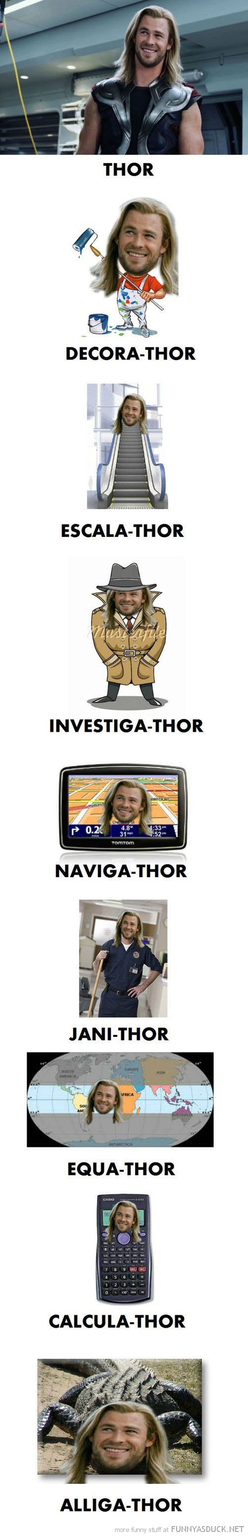 thor play on words avengers  film movie funny pics pictures pic picture image photo images photos lol