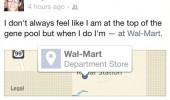 top gene pool walmart facebook status check in funny pics pictures pic picture image photo images photos lol