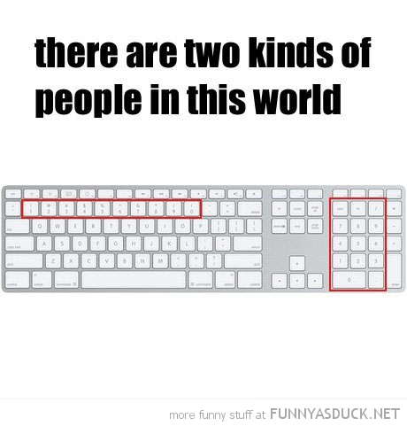 two people in this world keyboard mac apple numbers funny pics pictures pic picture image photo images photos lol