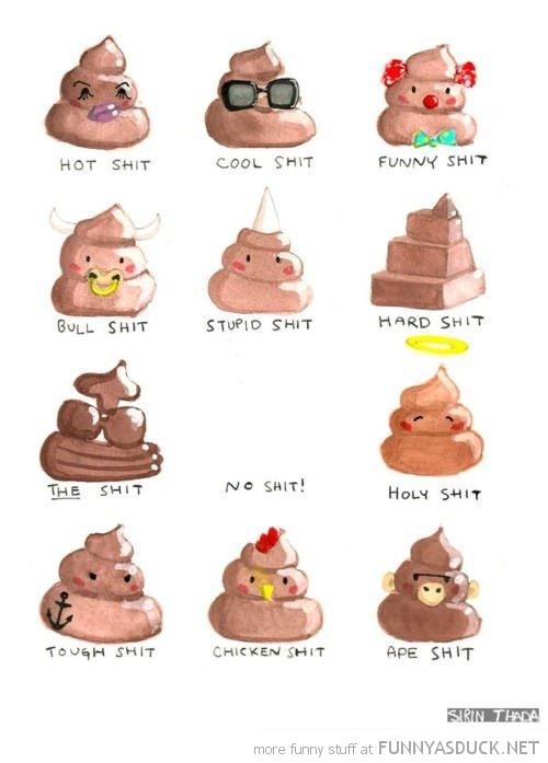Types Of Sh*t