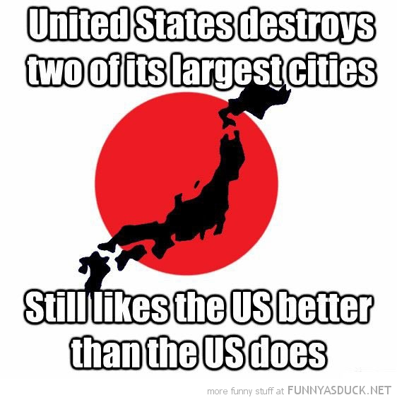 united states bombs japan city still likes usa funny pics pictures pic picture image photo images photos lol