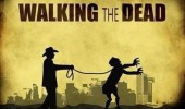 walking the dead tv zomboe leash lead funny pics pictures pic picture image photo images photos lol
