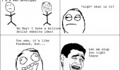 web developer idea just like facebook rage comic meme funny pics pictures pic picture image photo images photos lol