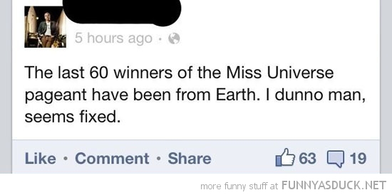 winners miss universe earth fix facebook status funny pics pictures pic picture image photo images photos lol