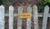 wooden electric fence seems legit funny pics pictures pic picture image photo images photos lol