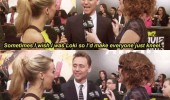 tom hiddleston don't need to be loki get me on knees interview funny pics pictures pic picture image photo images photos lol