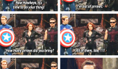 avengers hawkeye killed 11 aliens arrows your welcome funny pics pictures pic picture image photo images photos lol