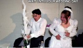 champagne cork popped this what happens wait wedding day funny pics pictures pic picture image photo images photos lol