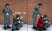 cover me soldiers blanket comic funny pics pictures pic picture image photo images photos lol