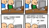 cyanide and happiness comic nsa watching e-mail funny pics pictures pic picture image photo images photos lol