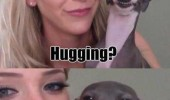 dog animal humping girl smiling yes hugging snoop funny pics pictures pic picture image photo images photos lol
