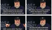 game of thrones spoilers george r martin tv funny pics pictures pic picture image photo images photos lol