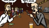 jesus bar pub water comic funny pics pictures pic picture image photo images photos lol
