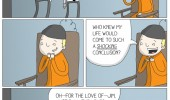 man electric chair life come to shocking conclusion comic  funny pics pictures pic picture image photo images photos lol