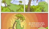 misunderstood t-rex comic dinosaur funny pics pictures pic picture image photo images photos lol