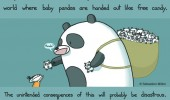 my dream hand out baby pandas comic funny pics pictures pic picture image photo images photos lol