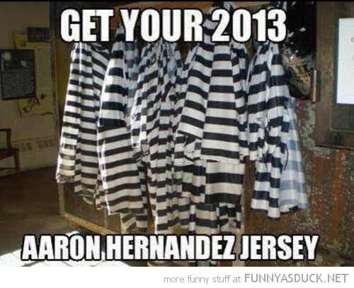 prison uniform 2013 aaron hernandez funny pics pictures pic picture image photo images photos lol