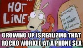 rocko modern life worked phone sex hotline funny pics pictures pic picture image photo images photos lol