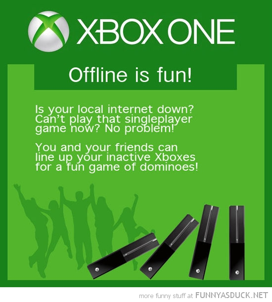 xbox one off-line fun dominoes gaming microsoft funny pics pictures pic picture image photo images photos lol