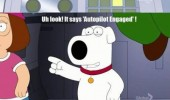 auto pilot got engaged family guy tv funny pics pictures pic picture image photo images photos lol