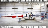 biggest lego model ever worst thing step on funny pics pictures pic picture image photo images photos lol