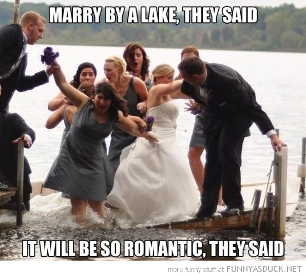 Marry By A Lake They Said