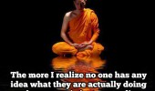 the older i get buddha quote  no one knows what they are doing funny pics pictures pic picture image photo images photos lol