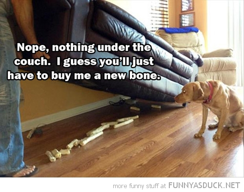 Nothing Under The Couch