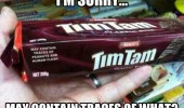 may contain human flesh tim tam chocolate how i feel other woman with my boyfriend comic funny pics pictures pic picture image photo images photos lol