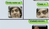 omg wake up sms text iphone funny pics pictures pic picture image photo images photos lol