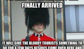 palace guard glad royal baby here uk funny pics pictures pic picture image photo images photos lol