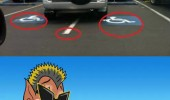 parking disabled spot douchebagest thing imagine powerpuff girls funny pics pictures pic picture image photo images photos lol