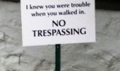 taylor swifts no trespassing sign funny pics pictures pic picture image photo images photos lol