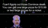 stand up joke pizza dominos effect funny pics pictures pic picture image photo images photos lol