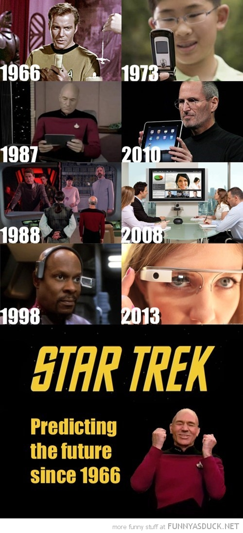 star trek predicting future since 1966 funny pics pictures pic picture image photo images photos lol