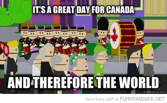 Happy Canada Day Everybody!