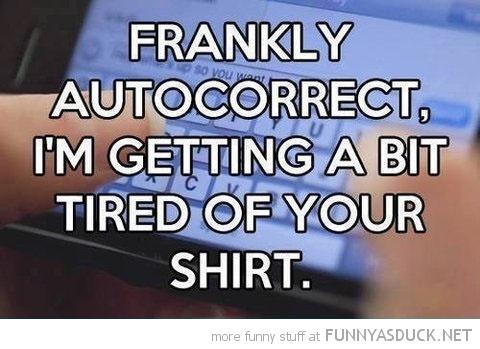 Frankly Autocorrect