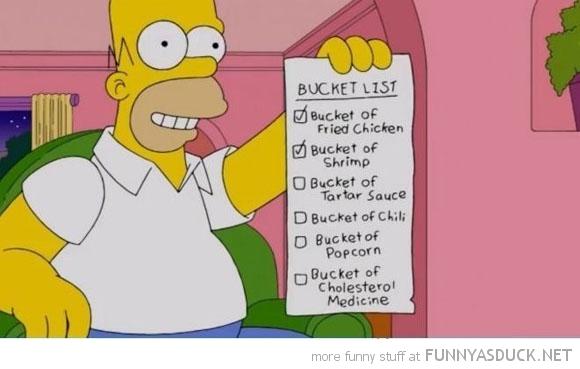 Homers Bucket List