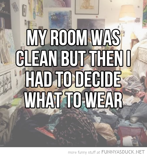 My Room Was Clean