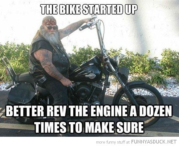 Scumbag Biker