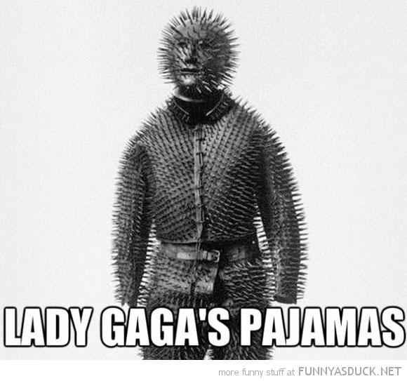 Lady Gaga's Pajamas