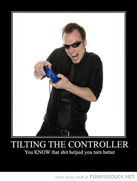 Tilting The Controller