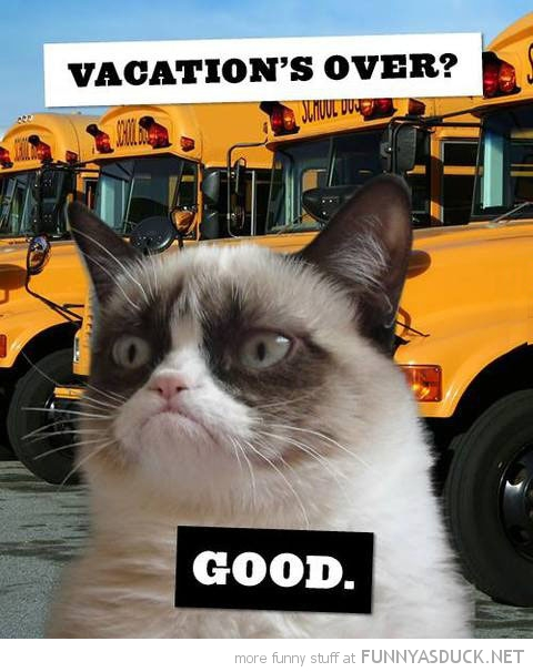 Vacation's Over